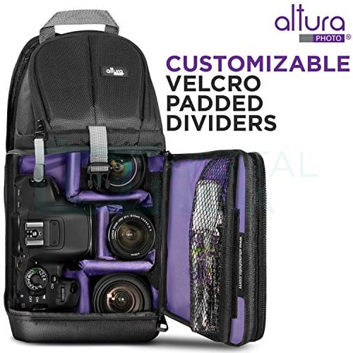 Altura Photo Camera Sling Backpack for DSLR and Mirrorless Cameras