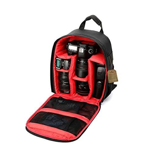 G-raphy Camera Bag Backpack with Rain Cover