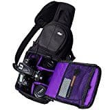 Qipi Camera Bag – Sling Style Camera Backpack with Padded Crossbody