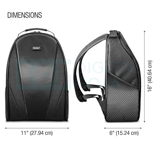 vivitar camera backpack