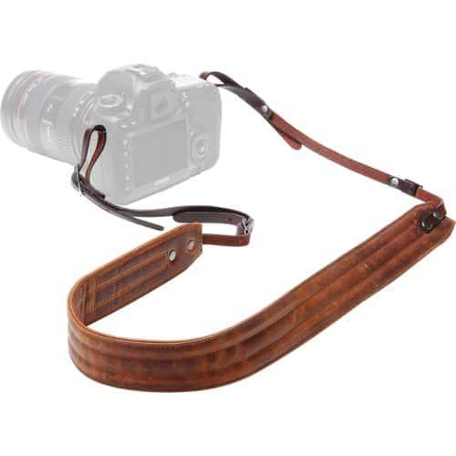 ONA – The Presidio Camera Strap – Antique Cognac Leather