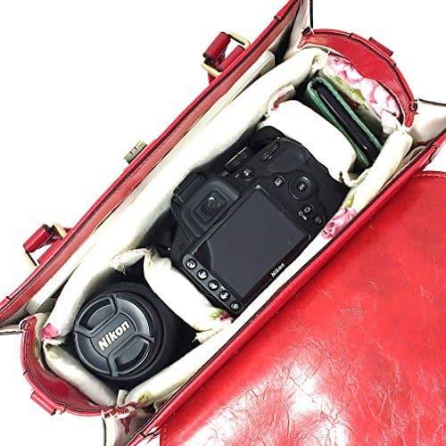 Purple Relic Camera Bag